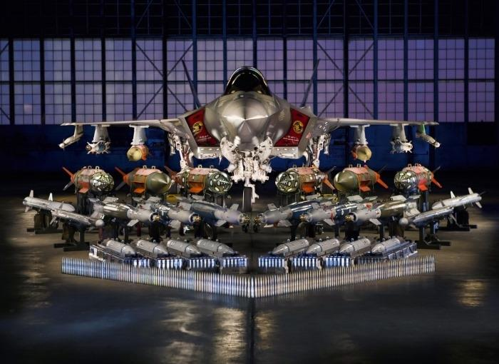 F-35A Weapons Carriage (Lockheed Martin Photo by Matt Short)