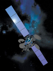DIRECTV 7S satellite (Credit: Space Systems/Loral)