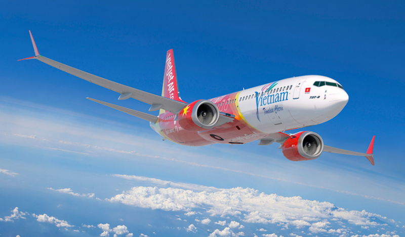 On May 22, 2016, VietJet placed an order for 100 737 MAX 200 jets. Photo Courtesy: The Boeing Company