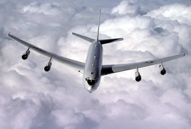 E-8C JSTARS Radar aircraft